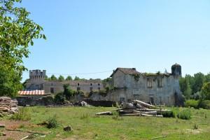 Le château (en ruines) de Clam